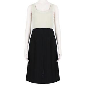 Acne Studios Minimalist Colour Block Shift Dress IT36 UK4 US0