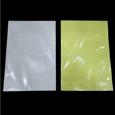 Matte A4 Size Self-adhesive Sticker for Inkjet Printer 25 Sheets Lowest Price