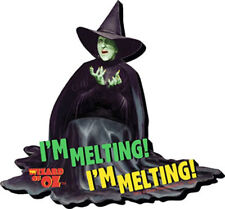 The Wizard of Oz Wicked Witch I'm Melting! I'm Melting! Chunky 3-D DieCut Magnet