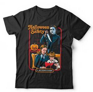 Halloween Safety Tshirt Unisex & Kids - Funny, Parody, Michael Myers, Slasher