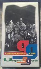 Gilberto Gil Unplugged MTV Brazil VHS HI-FI Super Rare NTSC Brazilian Import
