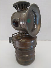 Antique HEADLIGHT CARBIDE Search-Light Bicycle Lamp luxor motorcycle brass auto