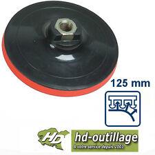 plateau 125 mm à disque auto-agrippant écrou M14 pour meuleuse/polisseuse
