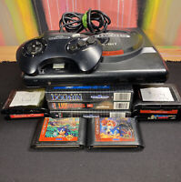 Sega Genesis Console Bundle, 2 Controllers, 10 Games, All Authentic And Tested!