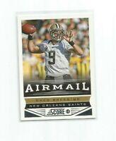DREW BREES (New Orleans Saints) 2013 SCORE FOOTBALL CARD #240