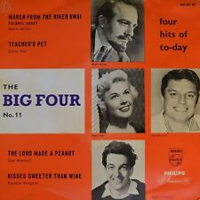 """7"""" The Big Four No.11 DORIS DAY GUY MITCHELL FRANKIE VAUGHAN PHILIPS EP DK 1958"""