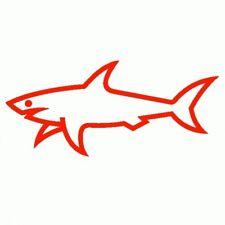 Paul & Shark - Adesivo Prespaziato - Colore Rosso - 10cm