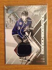 2015/16 SPx Monochromatics Ryan Johansen game used jersey card Predators
