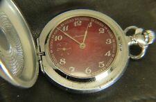 Molnia Molnija pocket watch Russian USSR 18 j 3602 cal Serviced
