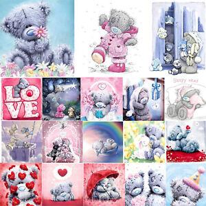 DIY 5D Diamond Painting Bear Cross Stitch Hand Embroidery Art Decor Craft Kit UK