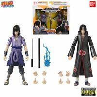 Naruto Shippuden ITACHI & SASUKE UCHIHA EE Exclusive SDCC 2pack Bandai In Stock!