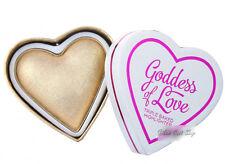Makeup Revolution I heart Makeup Blushing Hearts Highlighter Golden Goddess