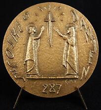 Médaille Saint Côme Cosme & Damien patrons des chirurgiens surgery medal