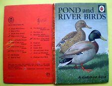 Pond And River Birds vintage Ladybird book nature ornithology estuary duck 2'6n