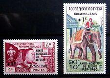 LAOS 1960 W.R.Y. SG103/4 U/M NC1251