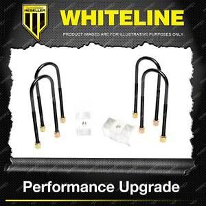 """Whiteline Rear 2"""" Lowering Block Kit for Holden Commodore VY VZ Crewman VY VZ"""
