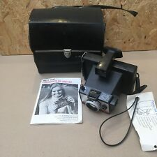 Vintage Polaroid Land Camera Colorpack 80 with Case & Manual