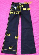 139$ NWT Miss Sixty DL0041 NEW TULUM W27 L34 jeans boot cut stretch cotton black