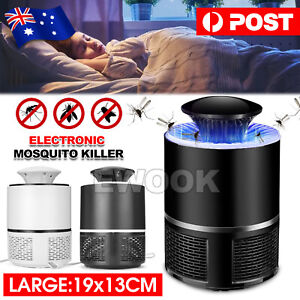 Large Mosquito Killer USB Charger Electronic Indoor Zapper Trap Inhaled Insect