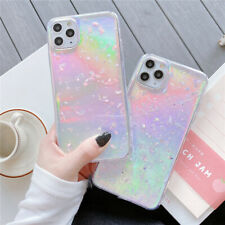 For iPhone SE 2020 11 Pro Max XS XR 8+Bling Glitter Clear Slim Laser Case Cover