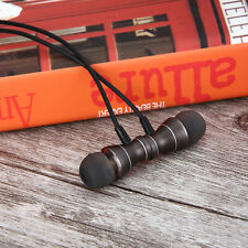 Gun Grey Magnet Sport Headphone Waterproof Earphone MIC Handsfree For SumsungS6
