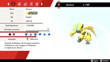 Zeraora 6 IV Battle Ready - Pokemon Sword - Shield, Pokemon Spada - Scudo