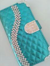 Strass Glitzer Handy Tasche Schutz Hülle Flip Cover Book Style Case Etui