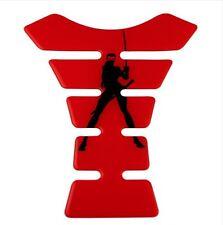 Ninja Resin Domed Tank Pad / Protector #Red + Sword