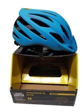NEW Mavic Crossride SL Elite MTB Helmet Dresden Blue/Fiery Red 54-59cm Reg$100