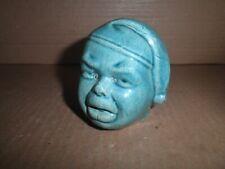 New ListingNeat old original pottery Boy in Nightcap Head still bank c.1920's