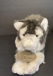 RUSS Yomiko Classics Timber Wolf Husky Plush Stuffed Animal Realistic