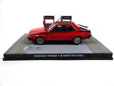 Renault Fuego James Bond 007 Dangereusement vôtre - 1:43 Voiture Model Car DY086