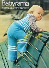 Revue de mode Catalogue de tricot - Babyrama  - Layette Enfant -
