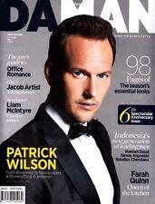DAMAN Magazine,Patrick Wilson,Jacob Artist,Liam McIntyre,Farah Quinn NEW