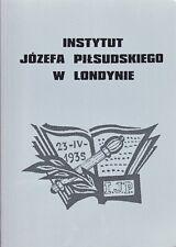 Instytut Jozefa Pilsudskiego W Londynie by O.J. Zuziak (Paperback, 2002)