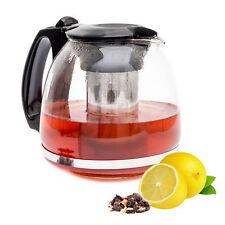 Lantelme Teekanne 1 25 L Glasteekanne Teesieb Teewärmer Edelstahl Sieb Kanne