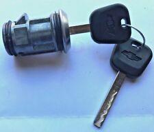 Chevy GMC Spare Tire Lock Key Cylinder Assembled 2 Chevy logo Keys 7023873