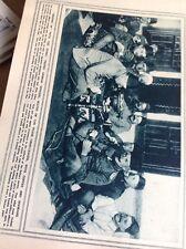 T1-7 Ephemera Ww1 1916 Picture German Officers With Turks Hookahs