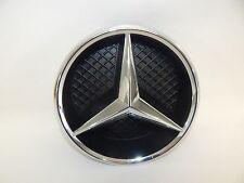 New OEM 11-17 Mercedes-Benz Front Grill Grille Emblem & Housing Badge Beam Star