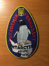 UKRAINE PATCH ANTRACTICA STANTION  AKADEMIK VERNADSKY UKRAINIAN - ORIGINAL