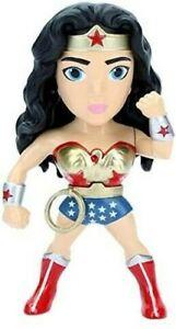 Wonder Woman Superhero Figurine Figure 10cm Metal Dc Comics JADA TOYS