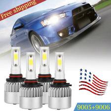 FOR Evo X Lancer 2008-2015 - 4X Led Projector Headlights Lamps BULBS  US