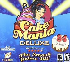 CAKE MANIA DELUXE (PC,2006) CD-ROM NEW & SEALED