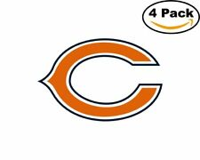Chicago Bears 4 4 Stickers 4X4 inches Sticker Decal