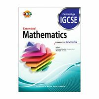 IGCSE: Extended Mathematics Complete Revision for Year 12