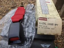 n°ar301 brin ceinture rover mini black red evl10025rpy neuve