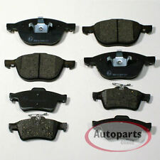 Volvo C30 2.0 D 134 Front Brake Pads Discs Kit Set 278mm Vented