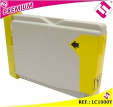 TINTA COLOR AMARILLA LC1000 CARTUCHO AMARILLO NONOEMBROTHER LC1000Y COMPATIBLE