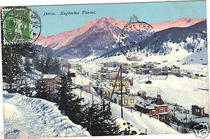 Switzerland - CPA - Davos - Englisches Viertel
