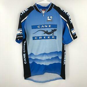 Giordana Cycling Jersey Mens Medium Bike Tour Graphic Pockets Zip Biking